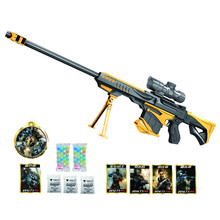 Crystal Water Bullet Toy Gun Water Ball Bullet Gun Outdoor Fun Sports CF Children Boy Toys Birthday Gifts Model