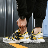 Relka Мода Красочные мужские кроссовки 9908 ручной работы из микрофибры обувь на толстом каблуке, с круглым носком Роскошная мягкая Винтаж повс