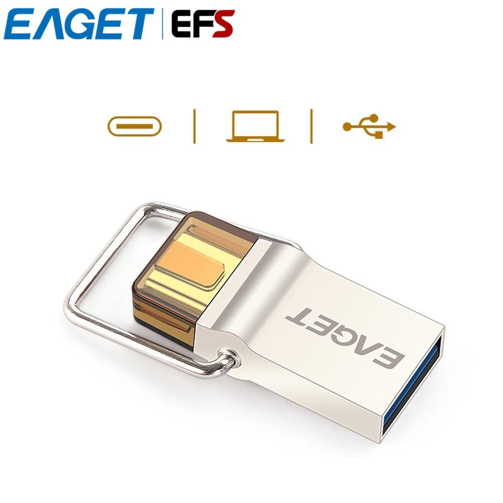 Promo Sandisk Flashdisk Otg Dual Usb Drive 30 16gb 130mb S Type C 32gb Hot Selling Eaget Cu10 Usb30 Pendrive Micro