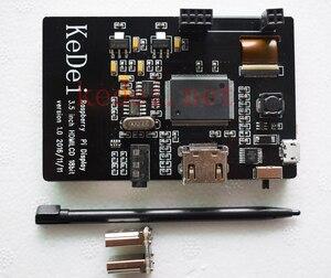 Image 3 - פטל Pi 3.5 אינץ USB HDMI תצוגת LCD מסך מגע אודיו 60Fps צג עבור פטל Pi 3B + PI3 PI2 B + דגם/אפס W