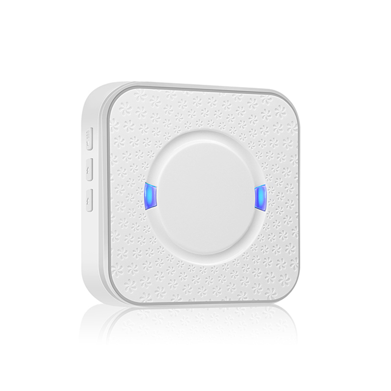 Waterproof Wireless Doorbell Indoor Receiver EU/US/UK Plug Chime Door Bell SOS Home Smart Home Control