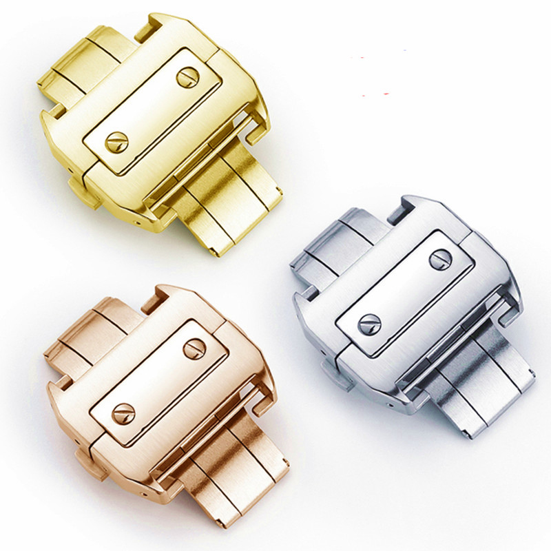 Watch Accessories Replacement Cartier Santos 18 21mm Clasp