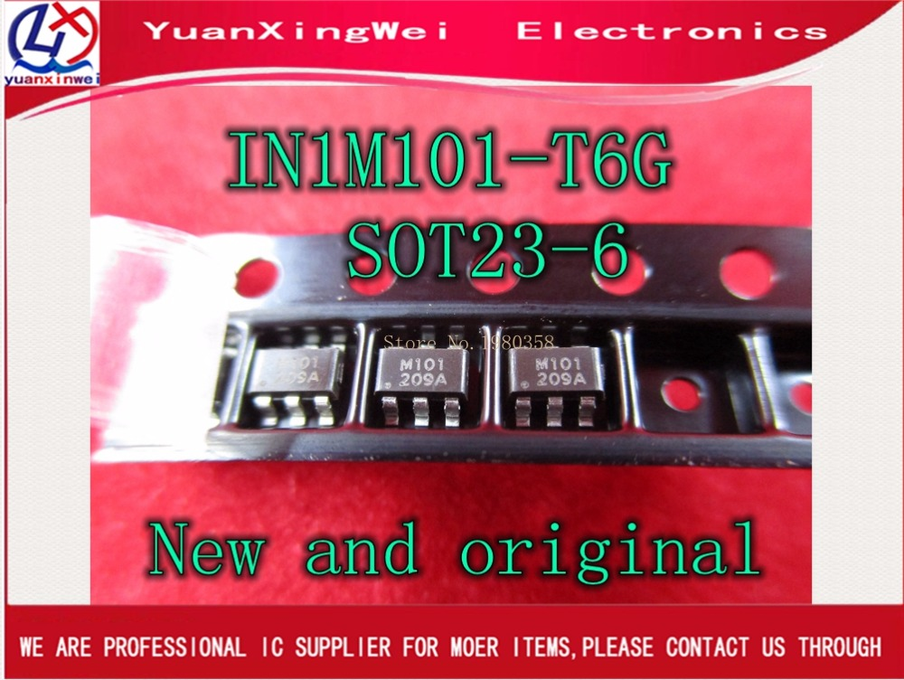 The Spot New And Original 5pcs IN1M101 IN1M101-T6G SOT23-6