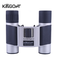 KINGOPT 8x21 Binoculars Portable HD Monocular Phone Telescopes with Metal Tubs FMC Outdoor Professional Tourism Fishing Tools