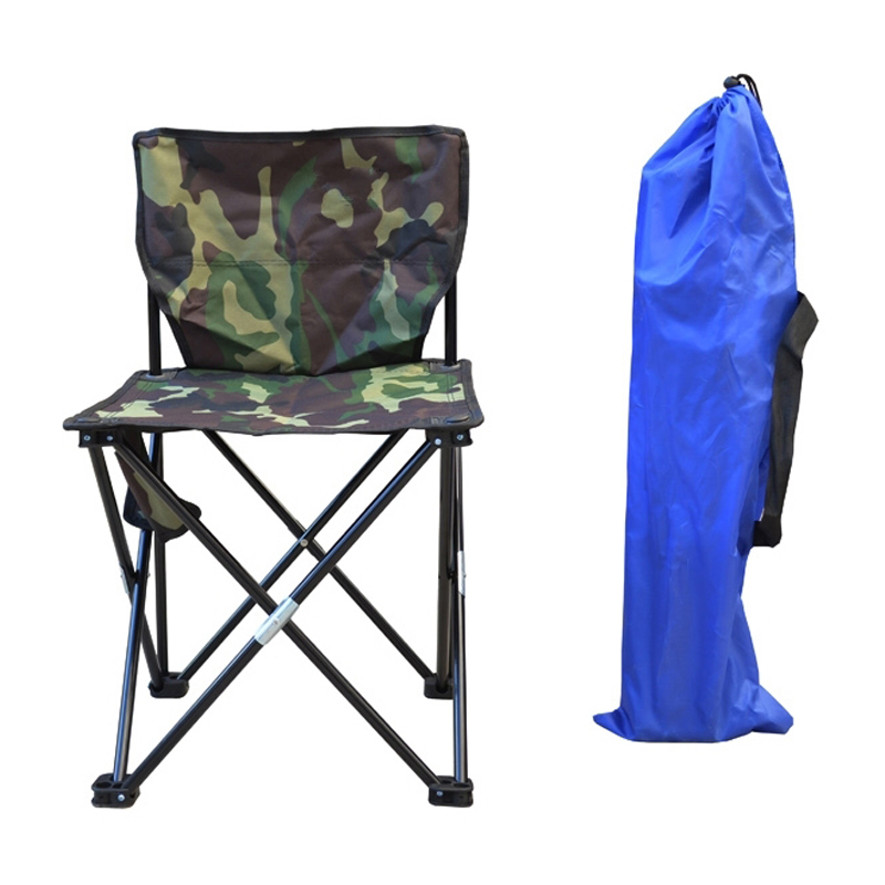 Outdoor Fishing Chair Camouflage Folding Chair Camping Hiking Chair Beach Picnic Rest Seat Stool camouflage outdoor comfortable folding fishing chair breathable moon chair leisure chair butterfly chair