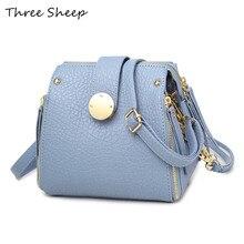 Blau Umhängetasche Reißverschluss Sperren Kleine Kette Tasche für Frauen Umhängetaschen Multifunktions Schwarz Taschen Messenger Sac De Luxe Femme