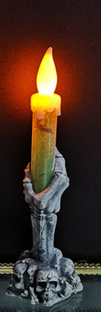 Ghost Hand Candle Light Halloween Decoration