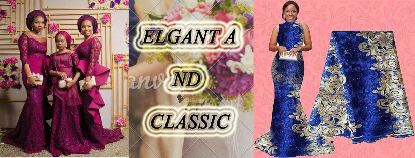 classic african lace fabric