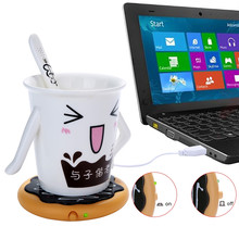 USB Mat Warm Keep Drink Warm