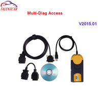 2016 HOT selling !!! Newest version multi-diag Multi-Di@g Access J2534 Pass-Thru OBD2 Device OBD2 with Best Quality