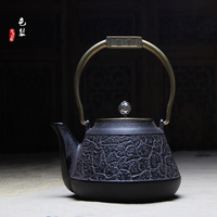 Cast iron pot The kettle iron teapot 1300 ml