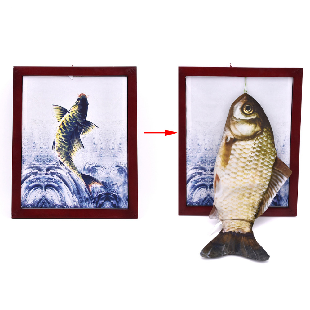 Fish Panda Frame Magic Tricks Comedy Stage Magic Illusion Plush Toy Appearing From Board Magia Mentalism
