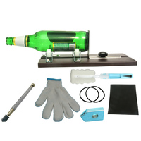 Hot Sale Aluminum Alloy Bottle Cutter Set Glass Cutting Tools for Wine Beer Bottle TY