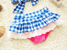 Children Cute Ruffled Bikini