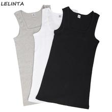 ae79aa91e3d8f 3-pack Men s Summer Cotton Slim Men Sleeveless Tank Tops Clothing  Bodybuilding Undershirt Fitness tops