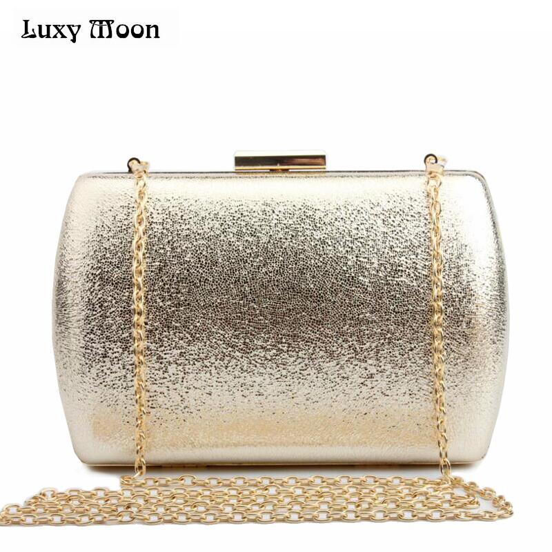 LUXY MOON Bling Evening Clutch Bag Gold Silver Day Clutch Purse Fashion women wedding Bag party dating handbag night club bag luxy moon bling crystal clutch purse rhinestones evening bag for women jewelry hard case handbags bridesmaid shoulder bags zd799