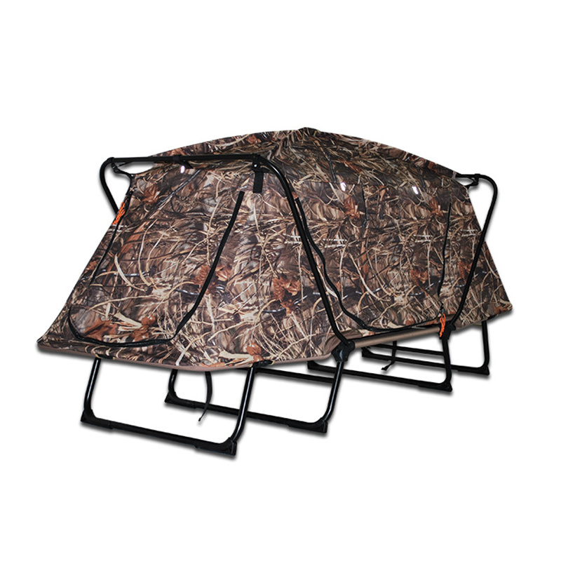 Muti-Used Camouflage Hunting Camping Tent Double Layer Forest Hunting Shooting Camouflage Tent Anti-tear Flame Retardant Tents outdoor double layer 10 14 persons camping holiday arbor tent sun canopy canopy tent