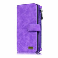Briefcase Leather Case For Apple IPhone 6 6 S 7 Plus Luxury Flip Coque Phone Case