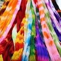 CCINEE 30 шт., двухцветные нейлоновые чулки с цветами, растягивающиеся до 2,5 м, аксессуары ручной работы для рукоделия - фото