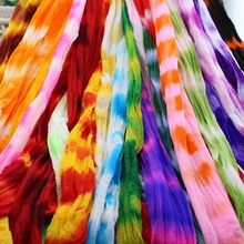 CCINEE 30PCS Mix Double Colors Nylon Flower Stocking Can Tensile To 2.5m Long Making Accessory Handmade DIY Crafts