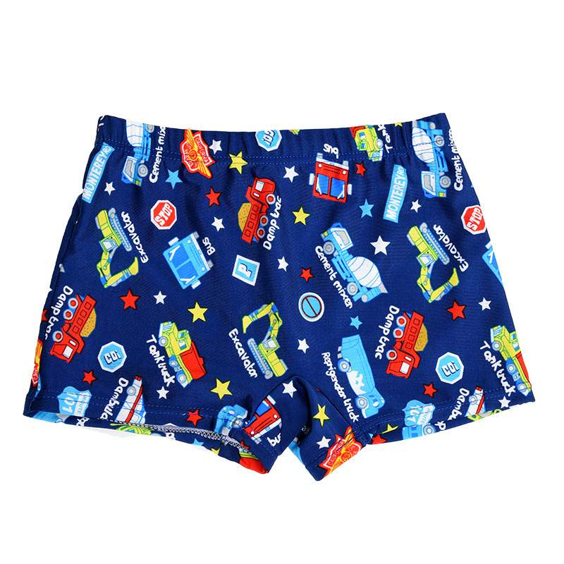 1PCS Little Boys Quick Dry Beach Swimwear Shorts Baby Kid Child Swimming Trunks Swimsuit Summer Cartoon Printed Toddler