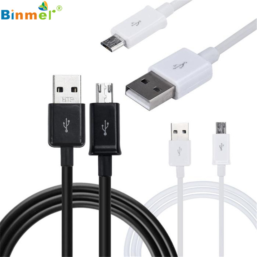 Factory Price Binmer V8 1m Standard Interface USB Micro Data Cable For Samsung Galaxy s7 Edge june08 P30 Z30 Free Shipping