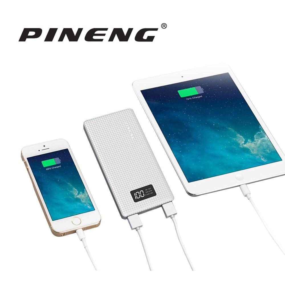 imágenes para Pineng Original Real 10000 mAh Banco de la Energía Cargador Rápido de Batería Externa para el iphone Samsung Xiaomi Portátil y Tablet