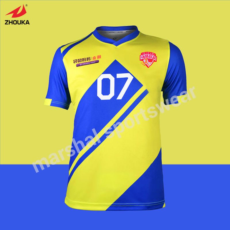 8e2b70543e2 US $115.0 |Football t shirts online shop custom soccer team uniforms  designs for football shirts New Design Sulbimation Printing -in Soccer  Jerseys ...