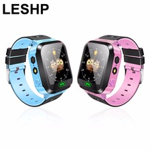New Y03 Smart Watch Touch Screen GPRS Locator Tracker Anti-Lost Smartwatch Baby Watch With Remote Camera SIM Calls for KIDS