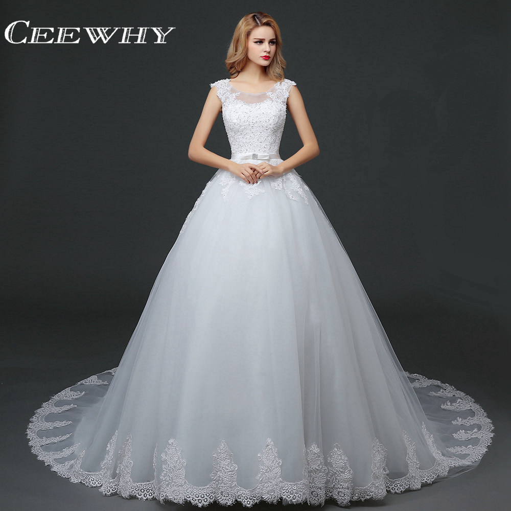 Real Retro Weddings: CEEWHY Luxury Embroidery Vintage Wedding Dresses Ball Gown