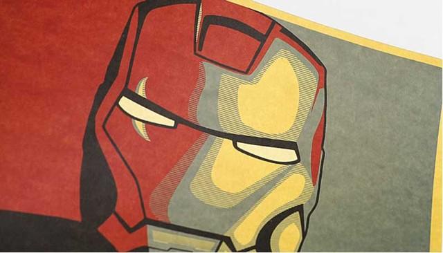 Hollywood Iron Man – Vintage Cartoon posters