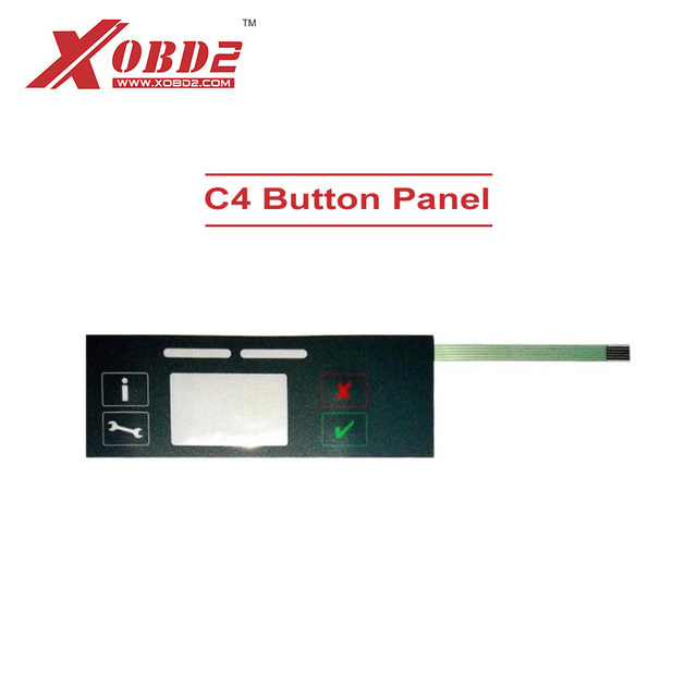 Button Panel for MB SD C4 with Panel Data Line SD C4 keyboard for New C4