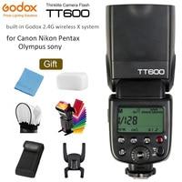 Godox TT600 GN60 2.4G Wireless Camera Flash Speedlite with Built in Trigger System for Canon Nikon Pentax Olympus Fuji SONY