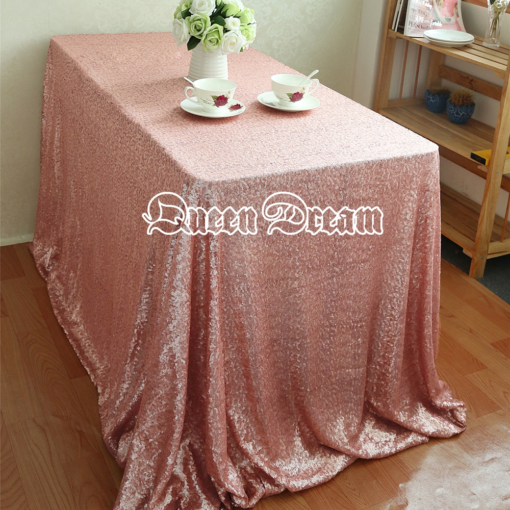 Sequin tablecloth wedding cake tablecloth square sequins for Table linens