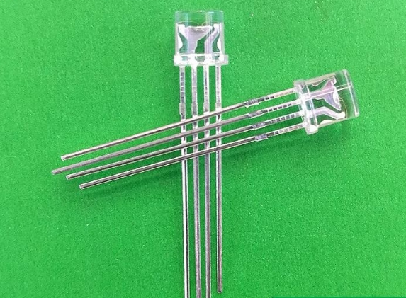 Mix Through Hole Flat Top 5mm Rgb Led Diode Common Anode/cathode