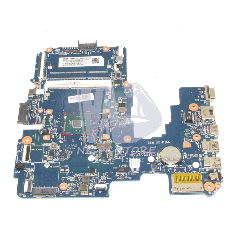 858040-001 Main board For HP 14-AM Laptop motherboard DDR3 6050A2823301-MB-A01 Full tested 621304 001 621302 001 621300 001 laptop motherboard for hp mini 110 3000 cq10 main board atom n450 n455 cpu intel ddr2