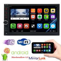Eincar 7 Double 2 DIN Android 6 0 NO DVD Player Car Radio Stereo Car Styling