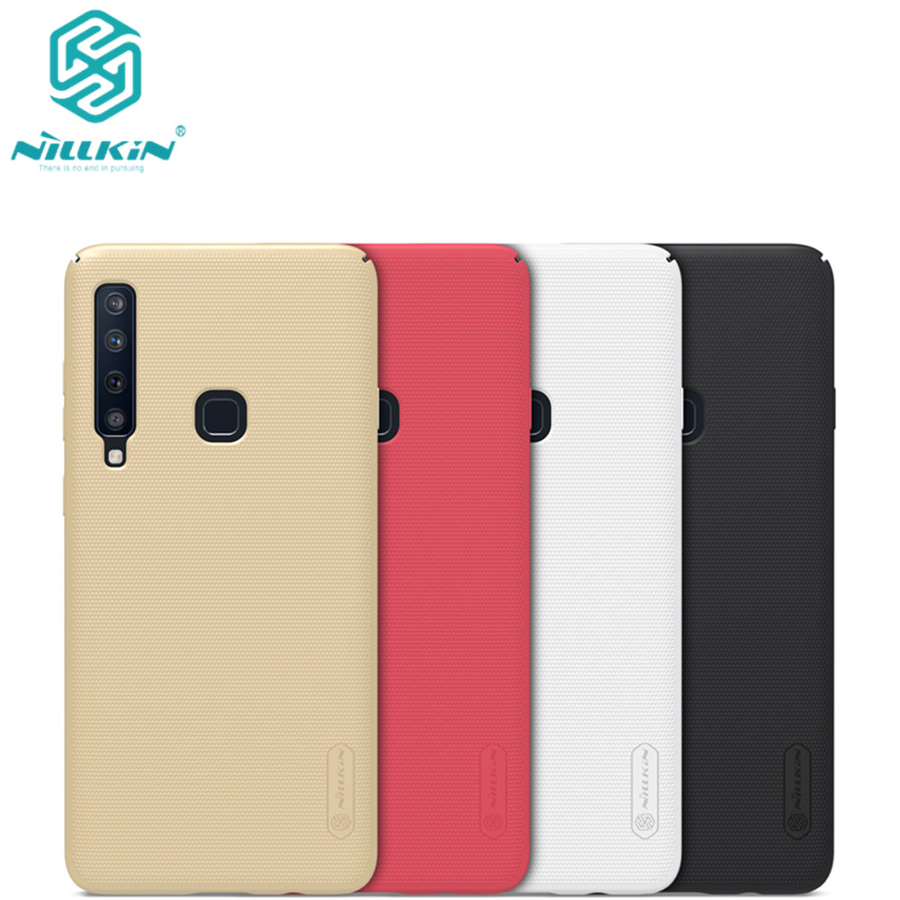 10pcs Nillkin Super Frosted Shield Case For Samsung Galaxy A9s PC Hard Back Cover Case For
