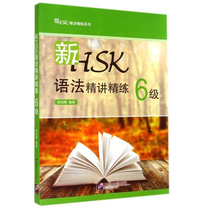 New HSK Grammar Succinctly Scouring 6 / Grammar Examination Books For Chinese Proficiency Examination