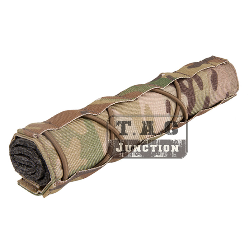 Tactical Suppressor Mirage Cover Quick Release Silencer Cover Airsoft Hunting
