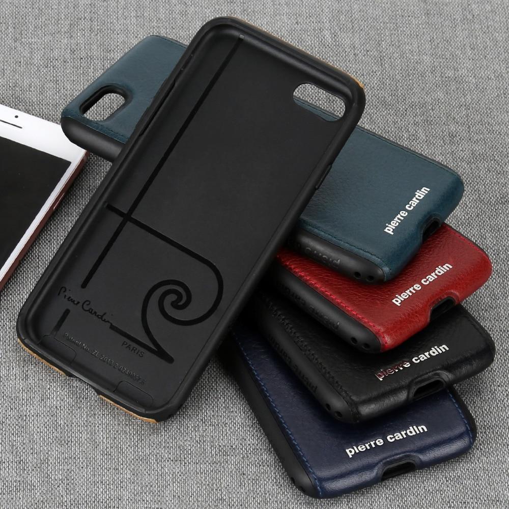 För Apple iPhone 7 8 plus telefonväska Pierre Cardin Anti-knock - Reservdelar och tillbehör för mobiltelefoner - Foto 3
