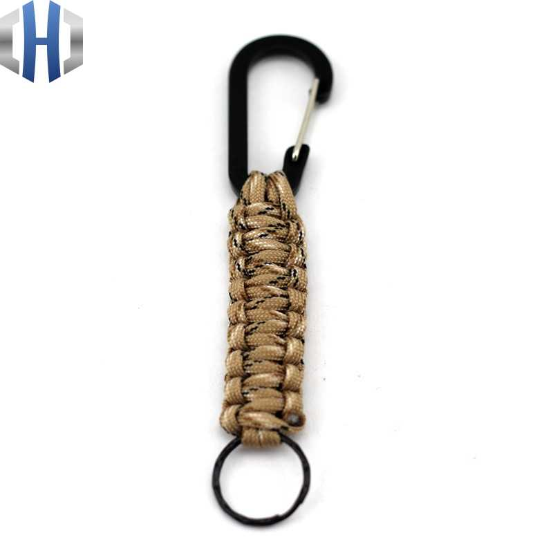 Survival Tool Nautical Knot Paracord Keychain 1PC