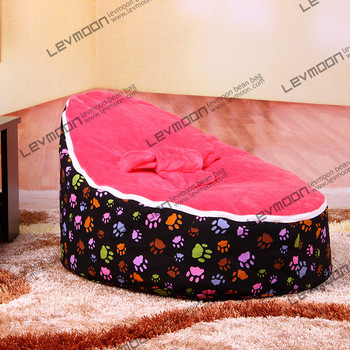 FREE SHIPPING baby bean bag cover with 2pcs red cover baby bean bag seat cover baby bean bag chair beanbag seat baby