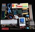 RFID Мастер Комплект с Мотором Сервопривода ЖК-ДИСПЛЕЙ для Arduino IDE AVR MCU Ученика Совместим С Arduino UNO R3 Мега 2560 Нано Робота