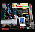 RFID Kit Principal con Motor Servo AVR LCD para Arduino IDE MCU que Aprende Compatible Con Arduino uno R3 Mega 2560 Nano Robot