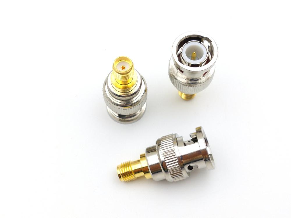 100 piezas BNC macho a SMA hembra enchufe Coax conectores-in Conectores from Luces e iluminación on AliExpress - 11.11_Double 11_Singles' Day 1