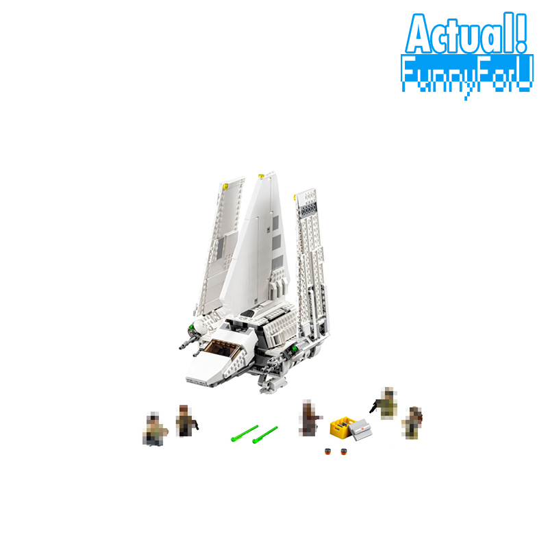 LEPIN 05057 Star Imperial Shuttle Tydirium Wars Building Blocks Bricks Toys DIY For Kids Model Compatible with legoINGly 75094 krennic s imperial shuttle building bricks blocks toys for children boys game plane weapon compatible with lepins diy model