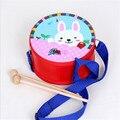 Iluminação precoce Orff instrumentos musicais de madeira tambor brinquedos aprendizagem educação brinquedos infantis brinquedo musical