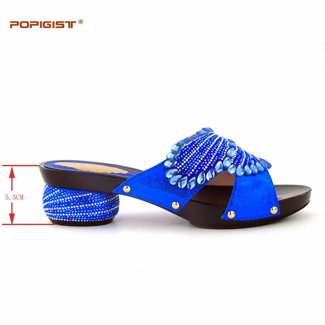 Online shop sweet heart design royal blue wedding shoes and bag sweet heart design royal blue wedding shoes and bag comfortable heels italian shoes matching bag african shoes and bag set match junglespirit Image collections
