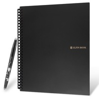 Elfinbook 2 0 Smart Reusable Erasable Notebook Microwave Wave Cloud Erase Notepad Note Pad Lined With